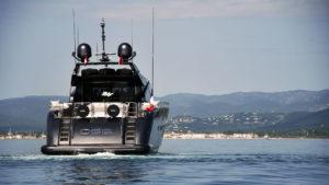 Superyacht OSE en mer