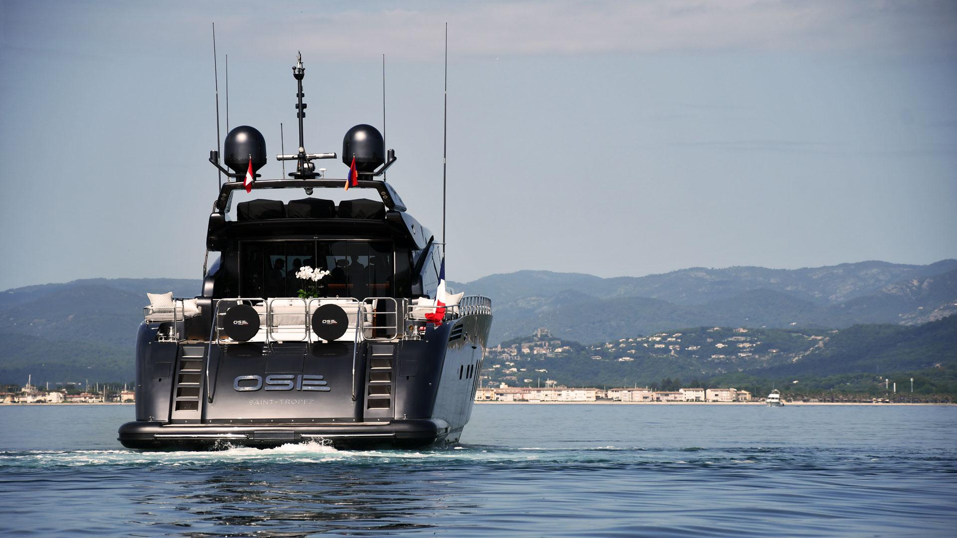 Le superyacht M/Y OSE, générateur de souvenirs inoubliables